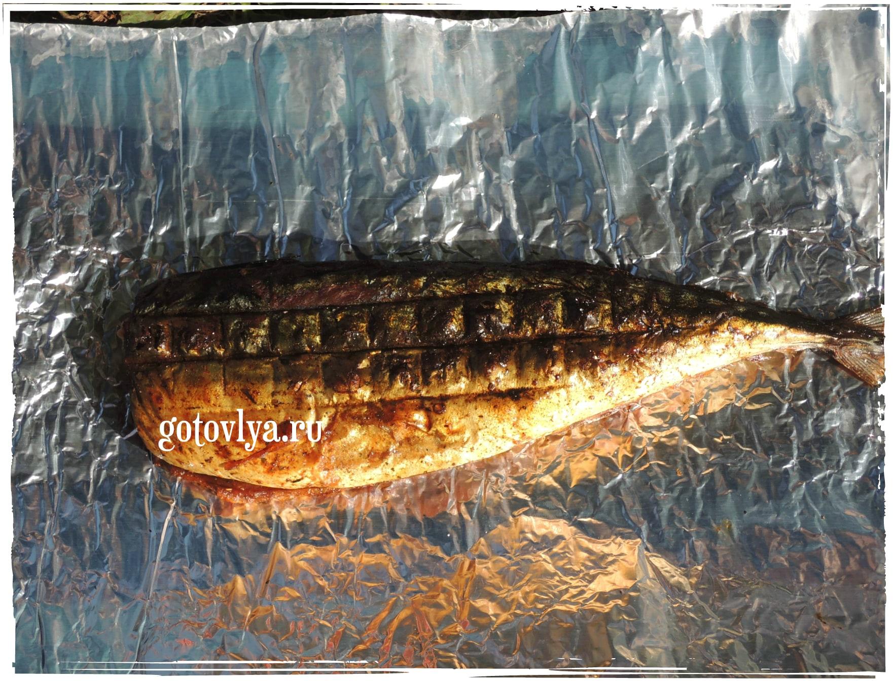 Рыба на гриле рецепт с фото