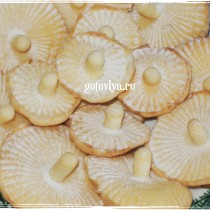 Грибочки в формочке рецепт с фото
