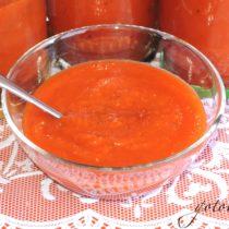 Острый томатный соус рецепт на зиму