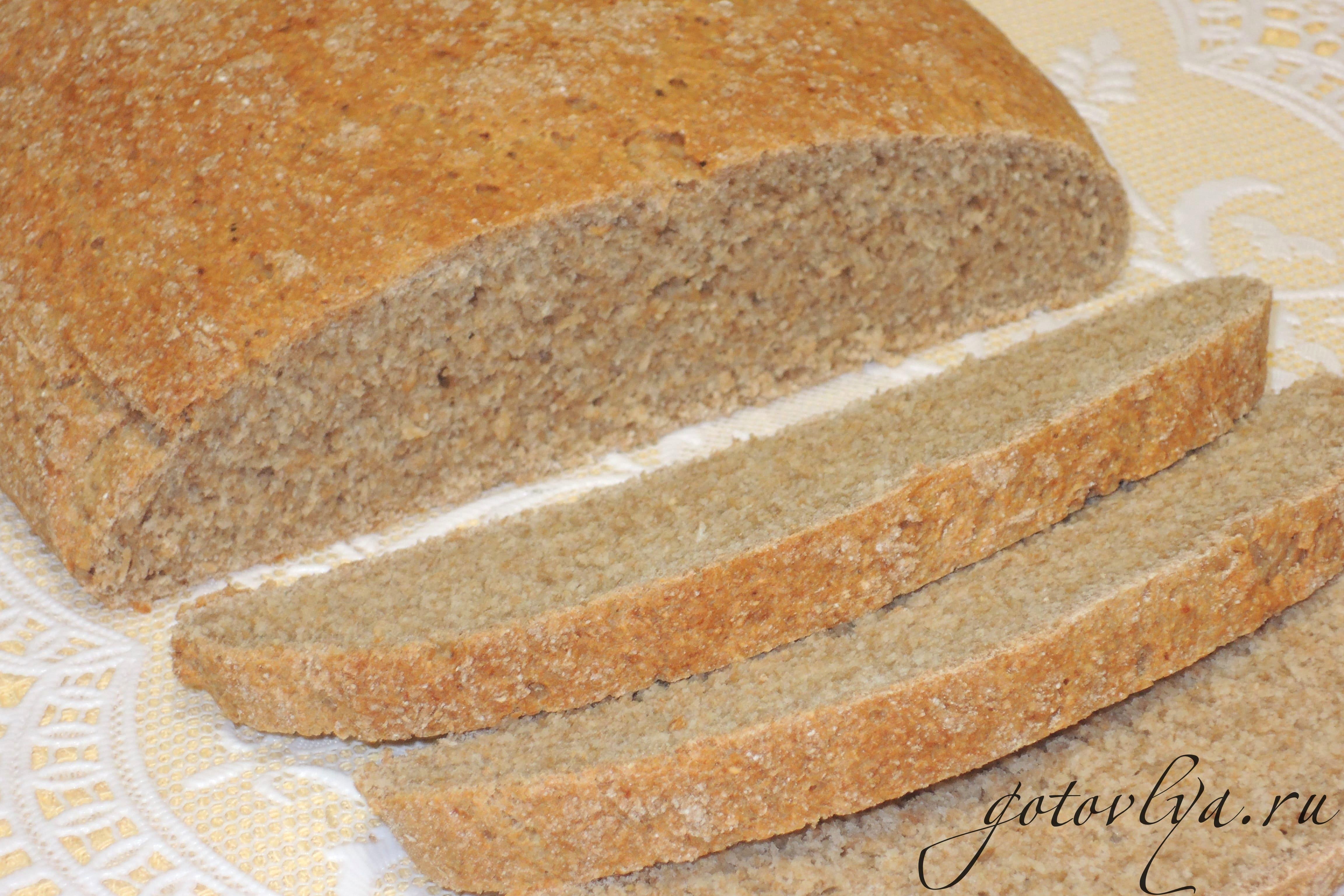 Полбяной хлеб рецепт