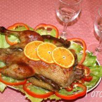 Утка в духовке рецепт с фото пошагово
