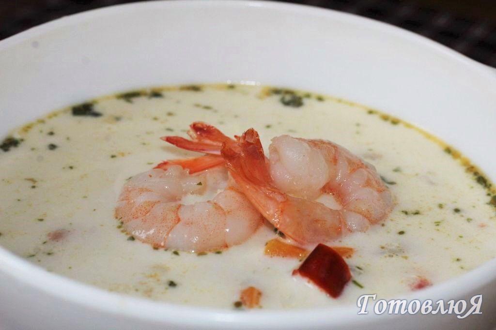 Суп Том Ям по русски